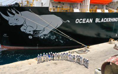 Astican despide a la Ocean BlackRhino después de cuatro meses en nuestras instalaciones.