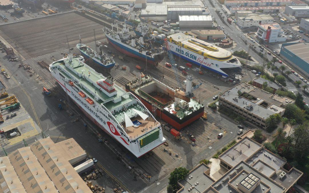 Nueva imagen corporativa del ferry canadiense Madeleine II