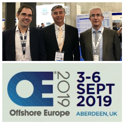 ASTICAN junto a la Autoridad Portuaria presente en la SPE Offshote Europe Conference and Exhibition