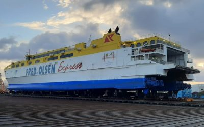 The world´s largest high-speed catamaran in ASTICAN